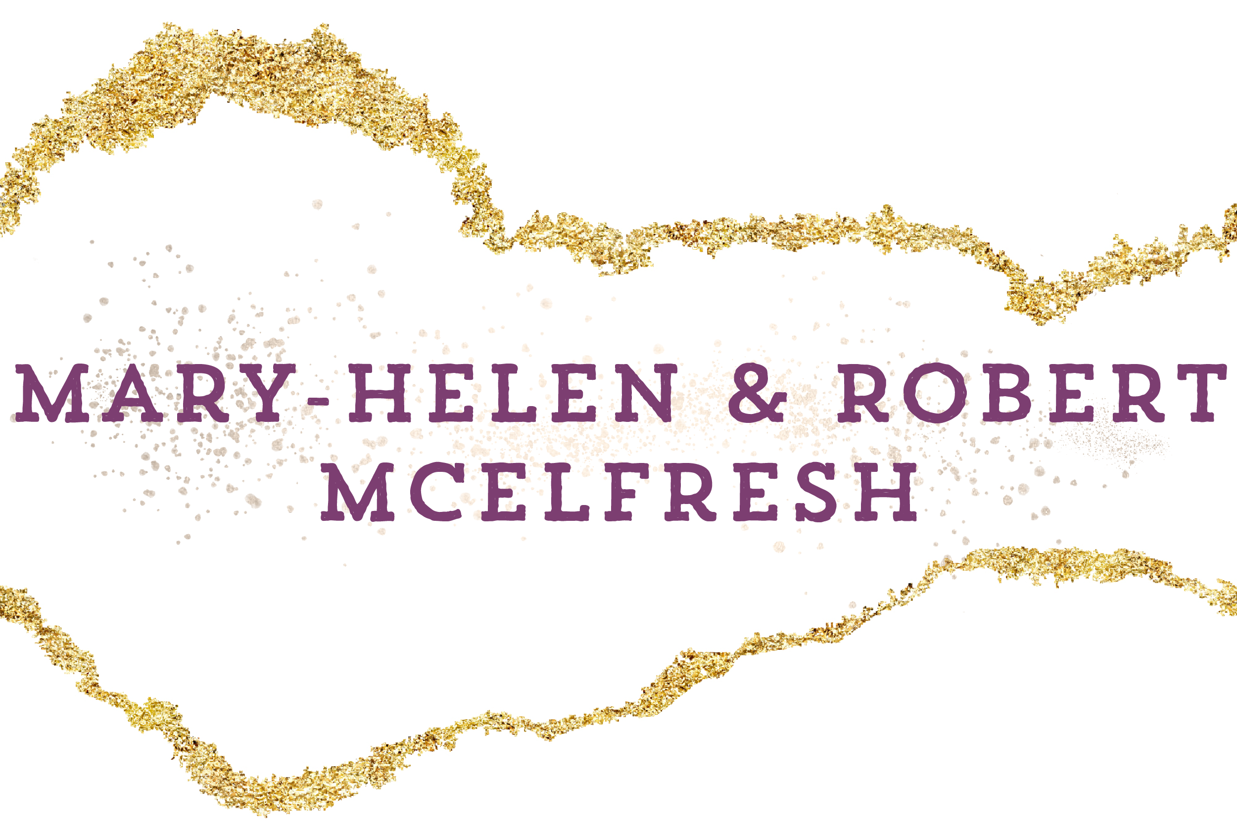 Mary-Helen and Robert McElfresh sponsors