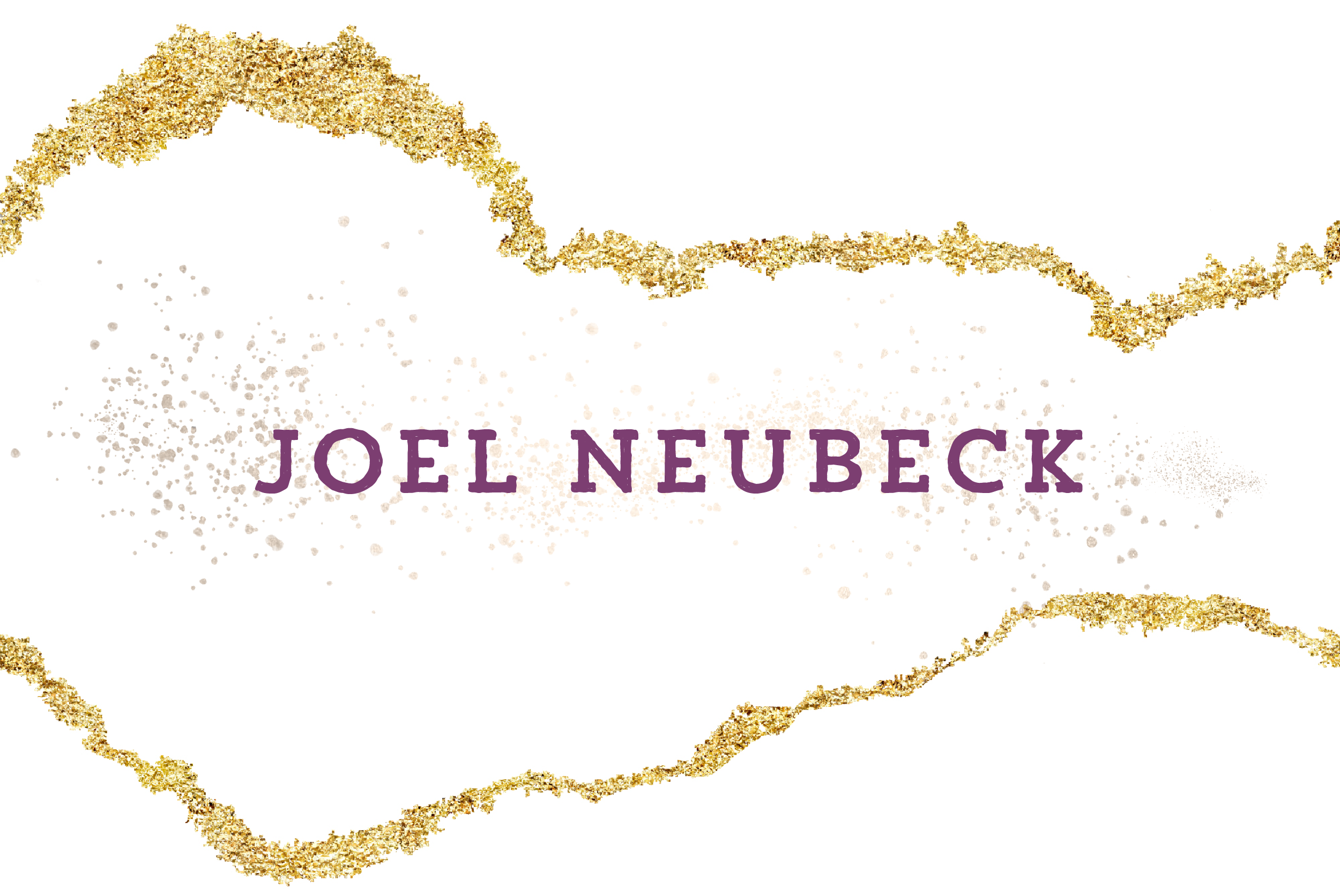 Joel Neubeck name logo