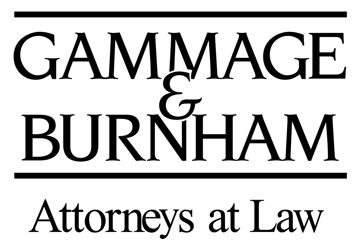Gammage and Burnham logo