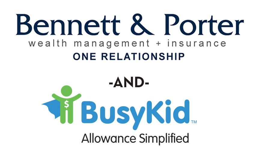 Bennett & Porter and BusyKid logos